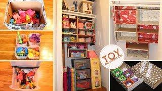 Toys Organization || Small Toy Room Organization