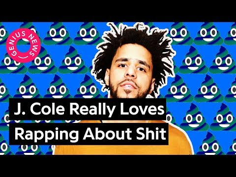 J. Cole Really Loves Rapping About Shit   Genius News
