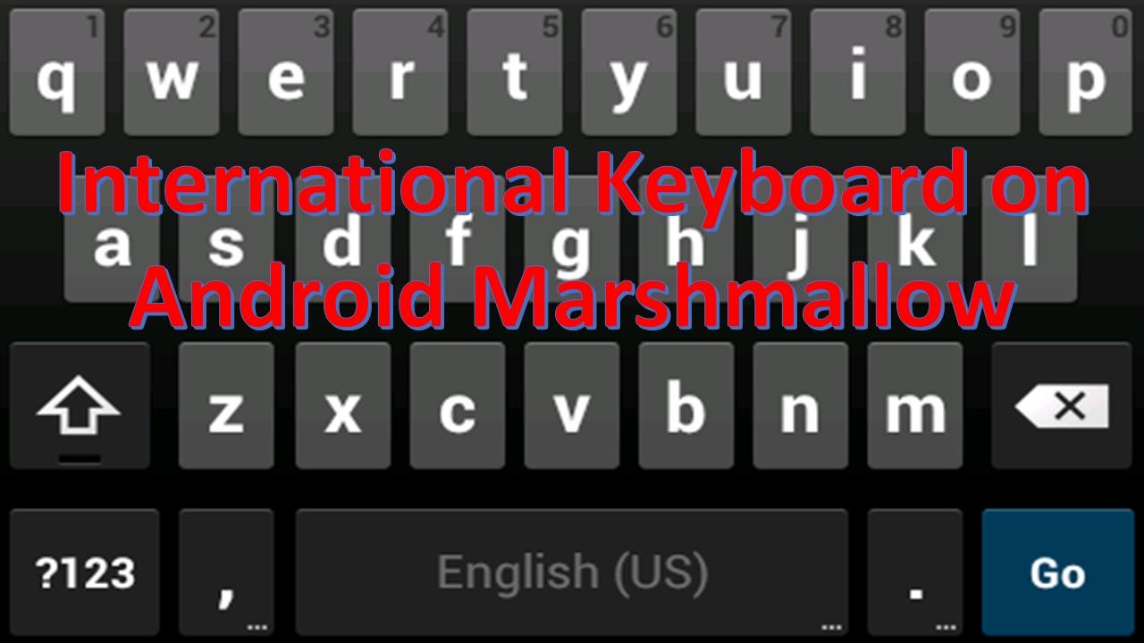 android marshmallow keyboard apk
