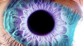 видео как изменить цвет глаз