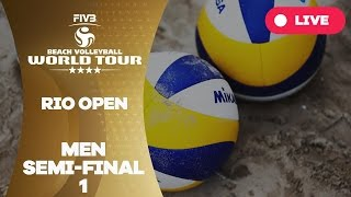 Rio 4-Star 2017 - Men Semi Final 1 - Beach Volleyball World Tour