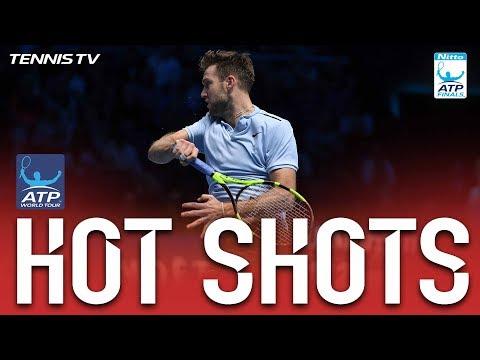 Sock Slides Into Hot Shot At Nitto ATP Finals 2017