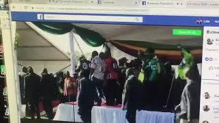 Rais wa Zimbabwe anusurika kifo kwa shambulio la mlipuko