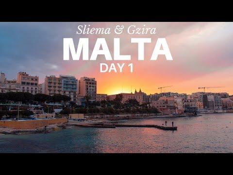 Malta 🇲🇹 Giorno 1: Sliema e Gzira - #Tour
