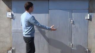 видео Почему стоит обратить внимание на металлические ворота?