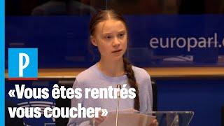 Greta Thunberg à L'europe: «notre Maison Brûle ( ) Et Vous Rentrez Vous Coucher»