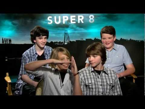 Super 8  Exclusive: Joel Courtney, Ryan Lee, Riley Griffiths and Zach Mills