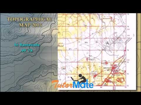 Tutor Mate: ICSE Topographical Map 2013