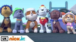 Paw Patrol | Pups Save the Winter Wonder Show: Part 1 | Nick Jr. UK