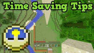 Minecraft - Time Saving Tips