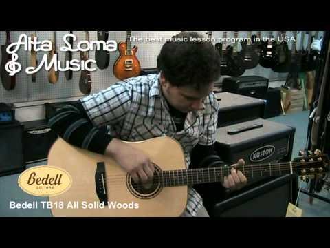 Guitars Alta Loma CA - Alta Loma Music - Bedell TB18 Acoustic Guitar