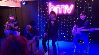 DON BROCO - Come Out To LA (first time acoustic live at HMV Oxford Street 02-02-2018)