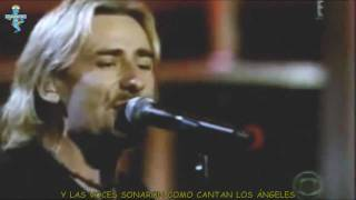 Carlos  Santana Ft Chad Kroeger  - Into The Night Subtitulos en Español Live HD