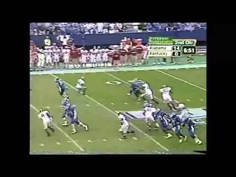 2004 Alabama vs. Kentucky Highlights