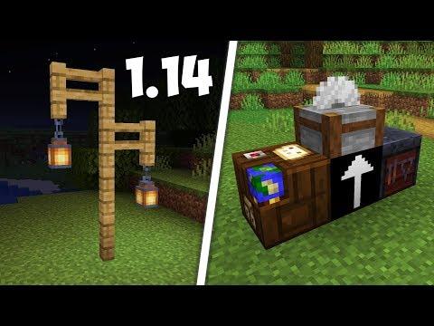 ДОБАВИЛИ ФОНАРЬ! ОБЗОР СНАПШОТА 18w46a для Minecraft 1.14