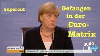 Supercut: Die Bundesregierung ist gefangen in der Euro-Matrix