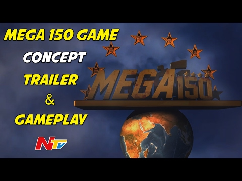 Mega 150 Game Concept Trailer & GamePlay || Chiranjeevi || NTV