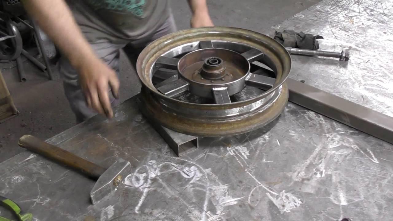 широкое колесо на днепр - YouTube