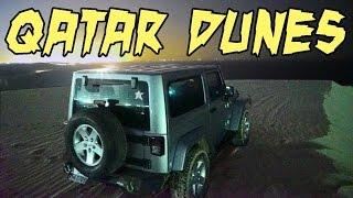 Jeep Wrangler @ Qatar SAND DUNES!