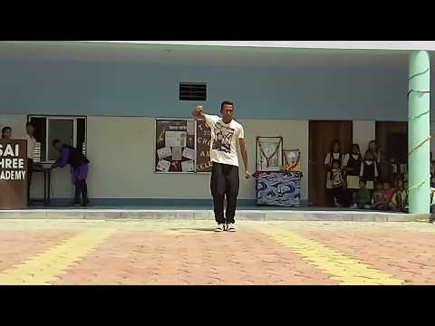 dharmesh sir flute song/locking/super fast dance