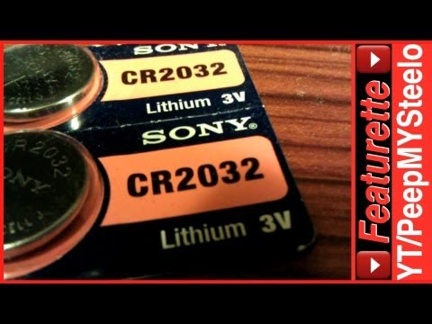 CR2032 Battery Replacement For 3V Lithium Button Coin Cell Size Watch Batteries Or Equivalent