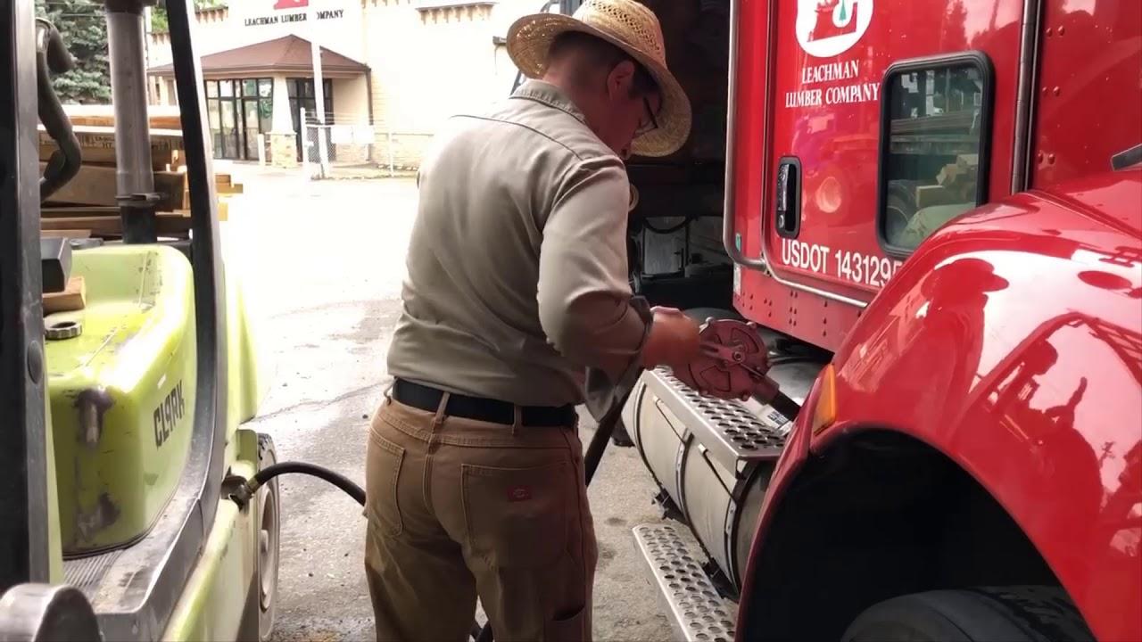 Forklift Refuel Diesel