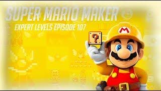 Super Mario Maker - 100 Mario Challenge #107 (Expert Levels)