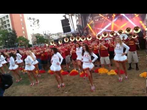 USC Marching Band!!! GO TROJANS!!! FIGHT ON!!!  Part 2