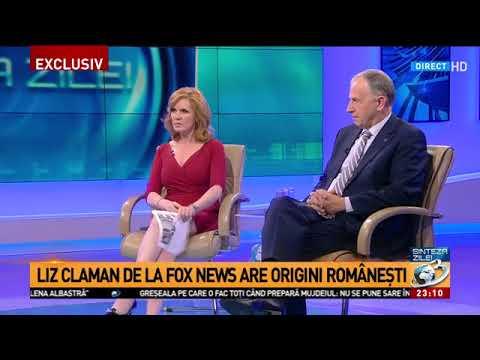 "Jurnalista Liz Claman de la Fox News: ""Am origini românești"""