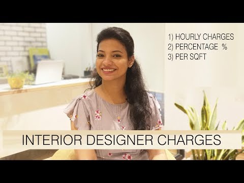 Interior design fees /charges explained in Indian context ,Interior Design business ,Ask iosis hindi