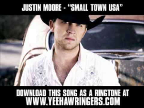 Justin Moore - Small Town USA [ New Video + Lyrics + Download ]