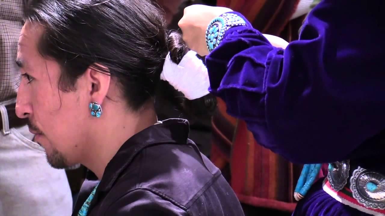 Native Hairstyles At Miac Part 3 Youtube