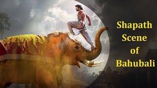 The Best Bollywood Movie Scene || Baahubali - Shapath scene (Audio with still shots)