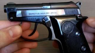 Beretta Model 20 .25 Cal RARE