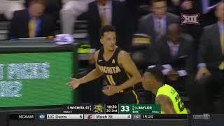 Wichita State vs Baylor Men's Basketball Highlights