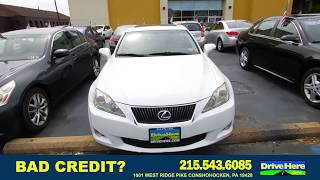 2010 LEXUS IS 250, 100% Application Review Policy