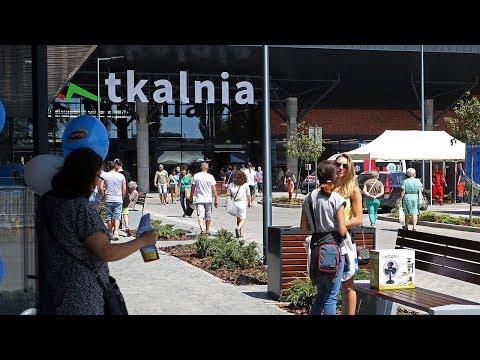 Otwarcie centrum handlowego Tkalnia w Pabianicach