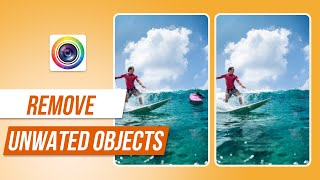 How to Remove Unwanted Objects | PhotoDirector Photo Editor App Tutorial