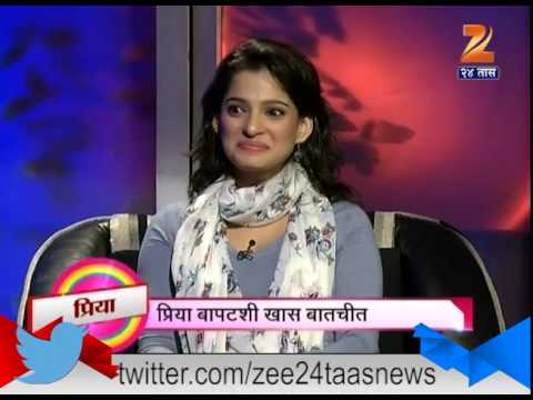Spot Light : Interview With Priya Bapat On Time Pass Part - 2 21st April 2015