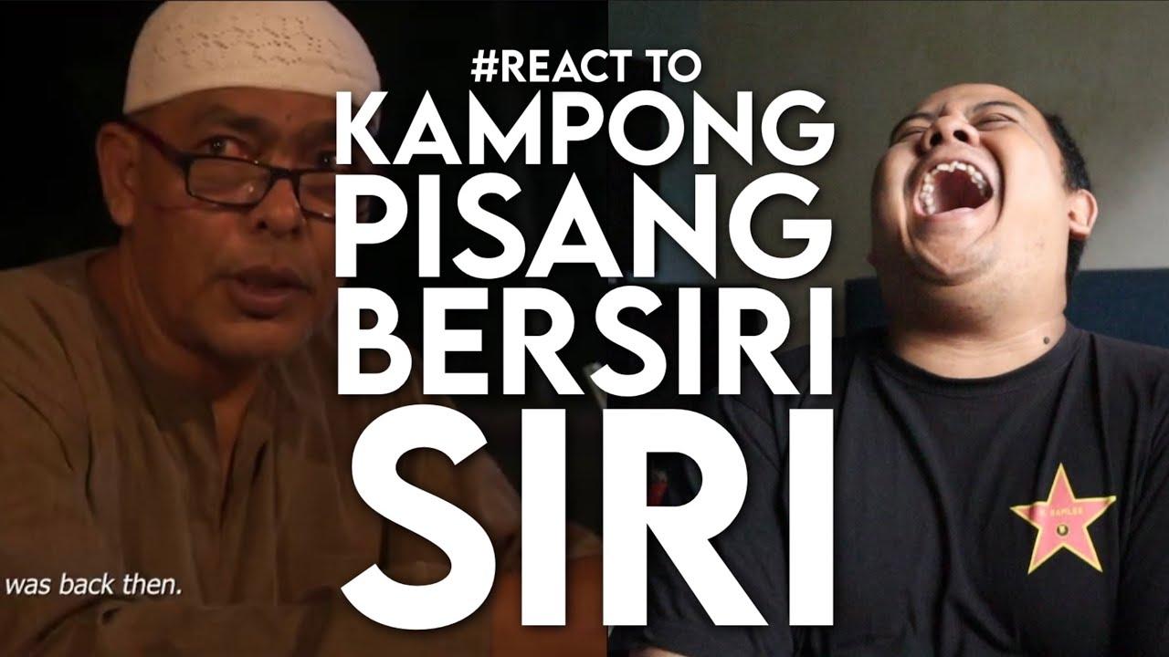 #React to KAMPONG PISANG BERSIRI-SIRI Official Trailer