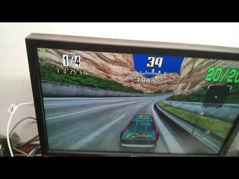 Sega Racing Classics with original BGM
