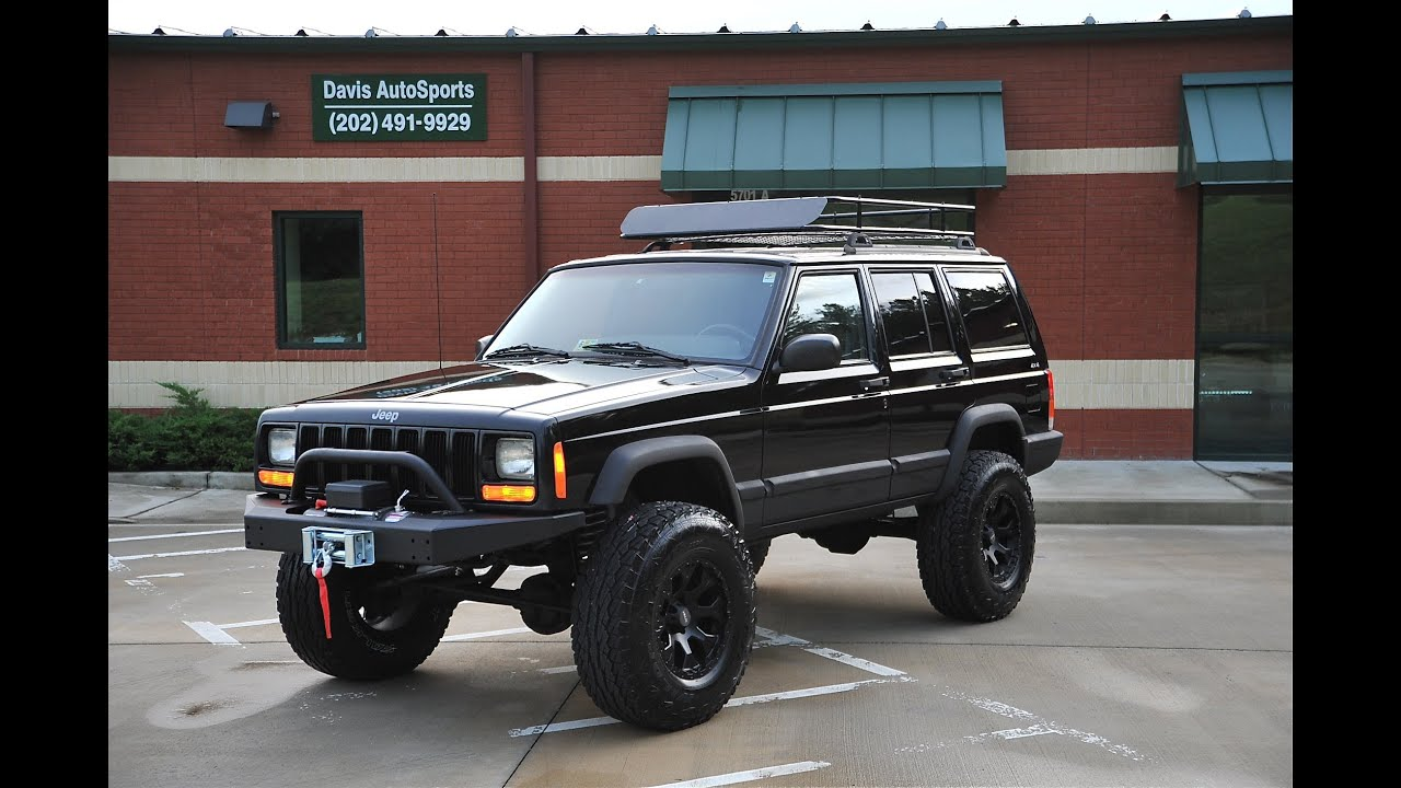 Davis Autosports Lifted Cherokee Xj Sport For Sale Youtube