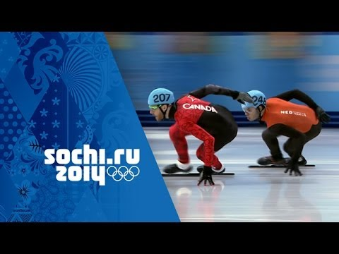 Short Track Speed Skating - Men's 1000m - Qualification  | Sochi 2014 Winter Olympics