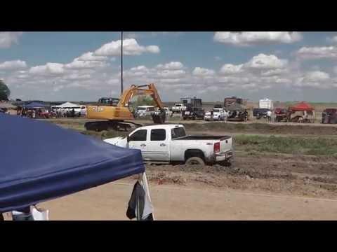 GMC Yukon Newer Model Truck Mud Bogging @ Mud Runs Deep April 30 2016 Lady Luck Speedway