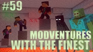 Minecraft: Modventure with the Finest - Ep. 59 - Shark and Whale Hunting!