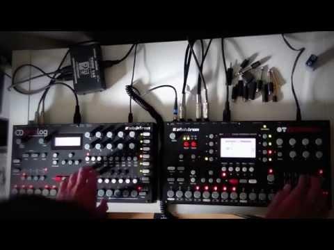 Elektron octatrack & analog 4 - mountain