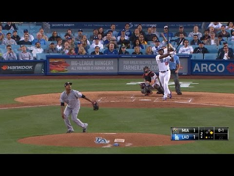 Puig crushes a two-run homer to left