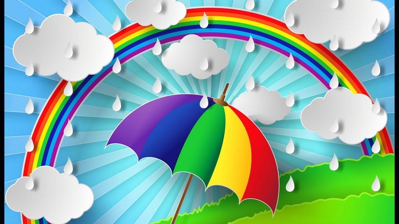 Картинка радуга для детей в детском саду