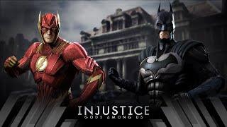 Injustice Gods Among Us - The Flash Vs Batman (Very Hard)