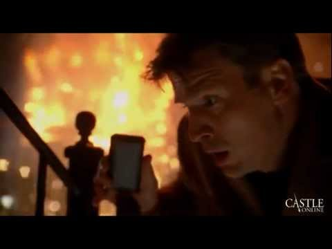 "Castle - Beckett's Apartment Explodes/Blows Up ""Good bye Nikki, Goodbye"" HD"